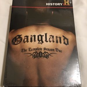 NEW History Channel Gangland Complete Season 1
